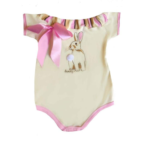 Sweet As Sugar Couture Baby Bunny Romper