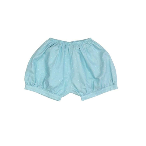 Sweet as Sugar Couture Blue Dot Bubble Short