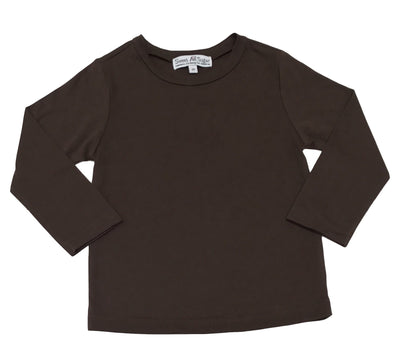 Sweet As Sugar Couture Basic Brown L/S Tee