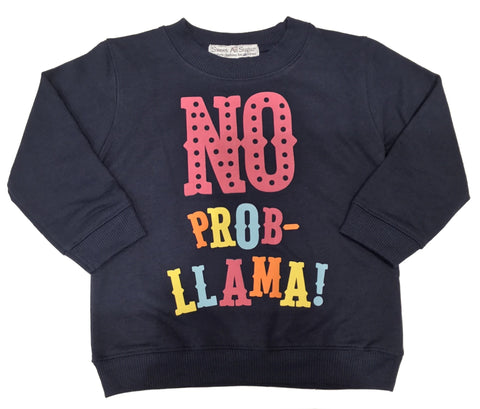Sweet As Sugar Couture No Prob-Llama Colorful Crew