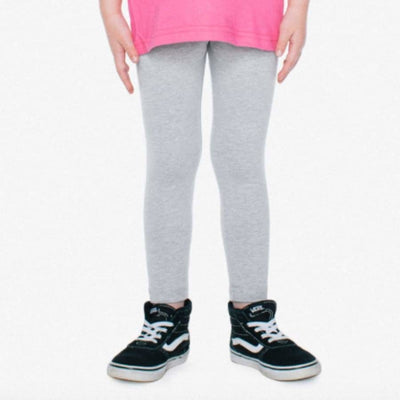 American Apparel Legging in Heather Gray - Bottom