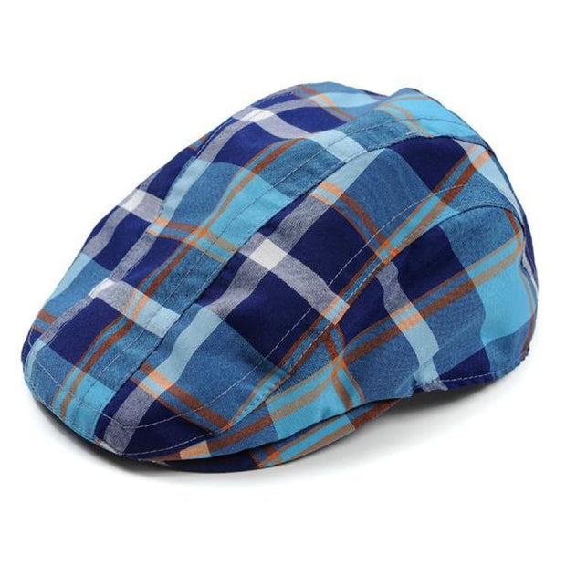 Appaman Plaid Newsboy Cap - S(6M/12M/18M) - Accessory