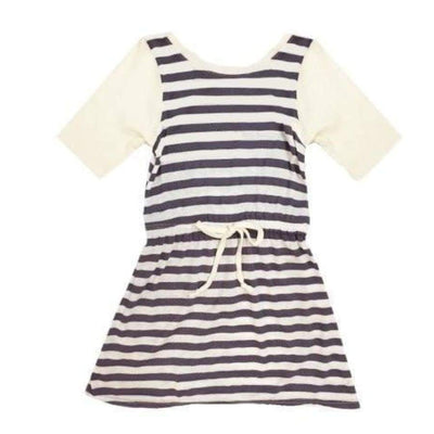 Sweet as Sugar Couture Plum Striped Sadie Knit Dress