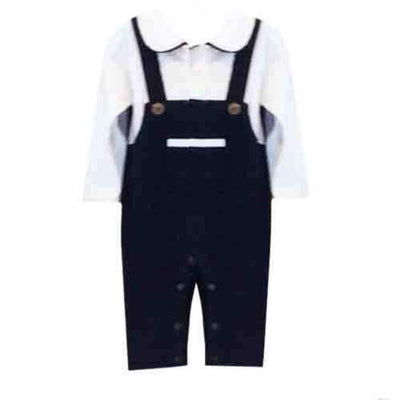 Sweet as Sugar Couture Sophisticated Lad Romper