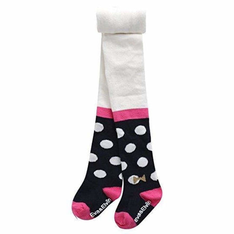 Eva and Elvin Ballerina Polka Dot Tights - Footwear