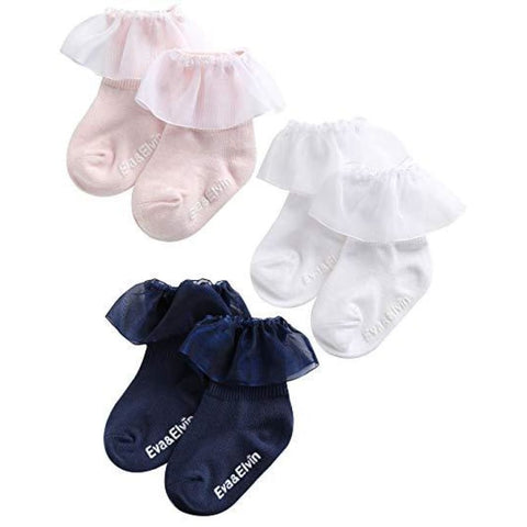 Eva and Elvin Yena Ruffled Sock - Footwear