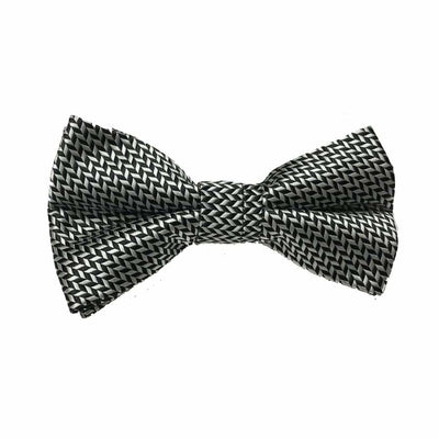 Ganz Bow Tie - Black/Grey - Accessory