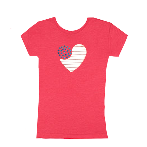 Sweet As Sugar Couture Heart of America Tee
