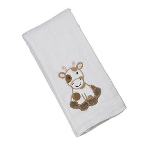 Maison Chic Grace the Giraffe Single Burp Cloth - Gift Item