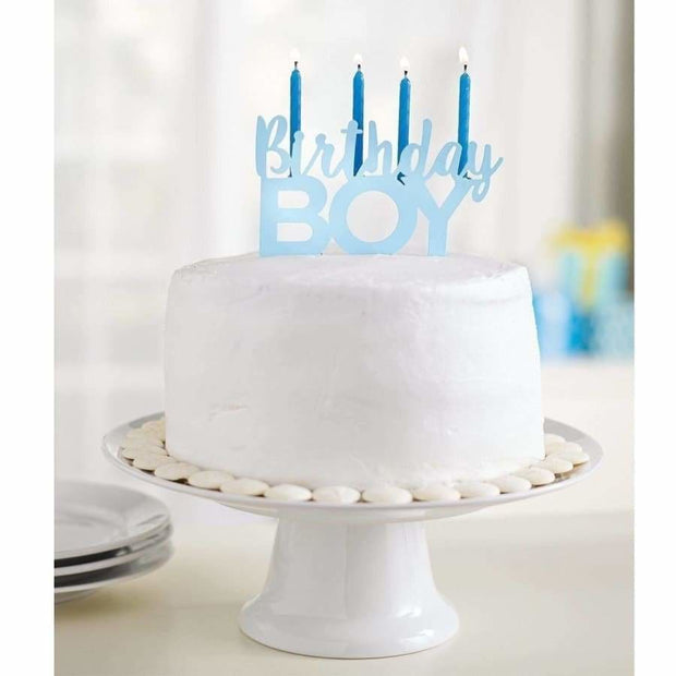 Mud Pie Birthday Boy Candle Holder - Gift Item