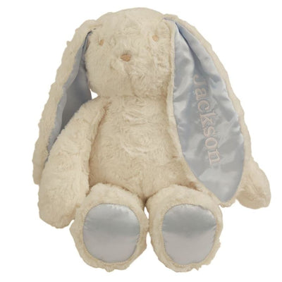 Mud Pie Plush Minky Bunny - Blue - Blue - Gift Item