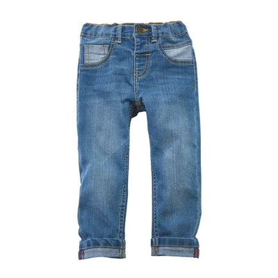 Mud Pie Slim Fit Boy Jeans - 3-6M - Bottom