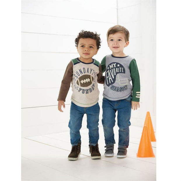 Mud Pie Slim Fit Boy Jeans - Bottom