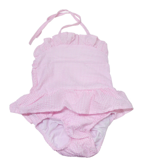 Sweet As Sugar Couture Pink Gingham Swimsuit