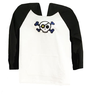 Sweet As Sugar Couture Bad to the Bone Raglan Shirt - 12M - Top