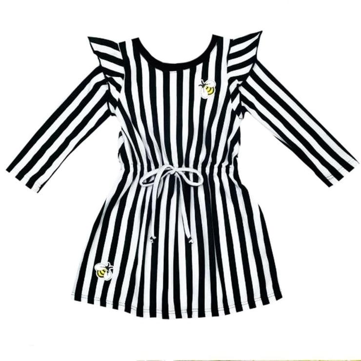 Sweet As Sugar Couture Bee Stripes - Dress