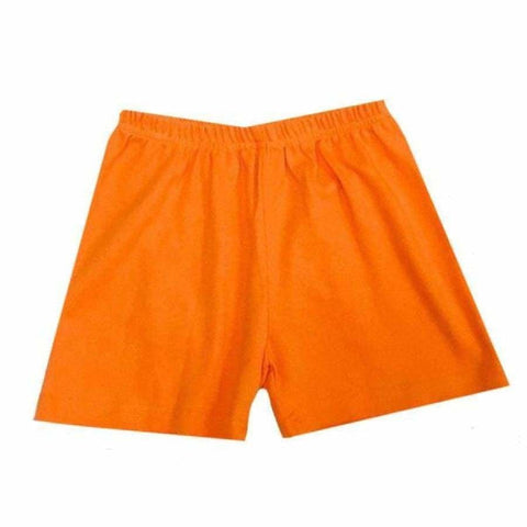 Sweet As Sugar Couture Boys Essential Short - Orange - 4T - Bottom