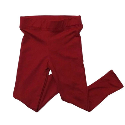 Sweet As Sugar Couture Comfort Legging - Cranberry Red - 3T - Bottom