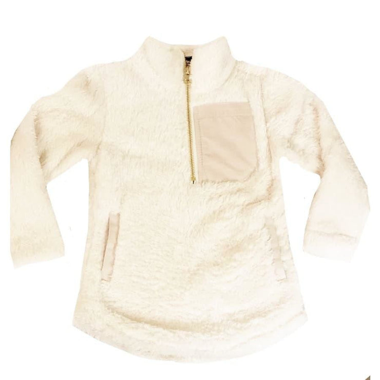 Sweet As Sugar Couture Cream Sherpa - XS(2/3) - Top