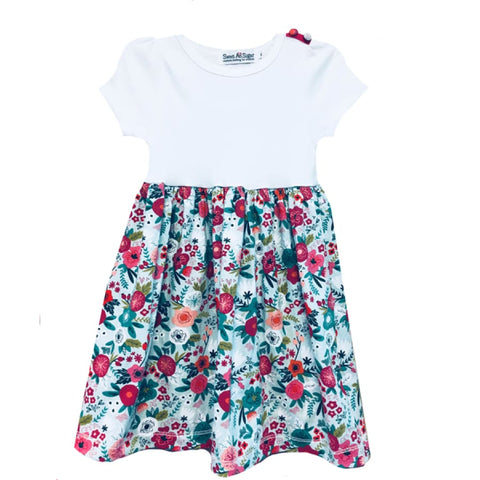 Sweet As Sugar Couture Cute as a Button Dress - 5Y - Dress