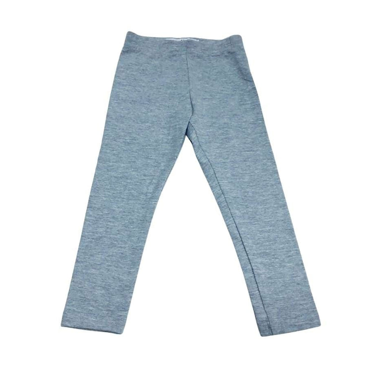 Sweet As Sugar Couture Essential Knit Heather Gray Legging - 2Y - Bottom