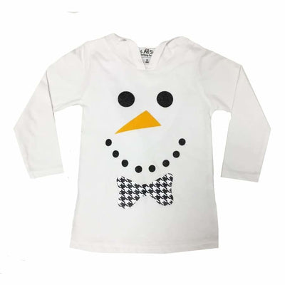 Sweet As Sugar Couture Frosty the Dapper Snowman Hoodie - Top