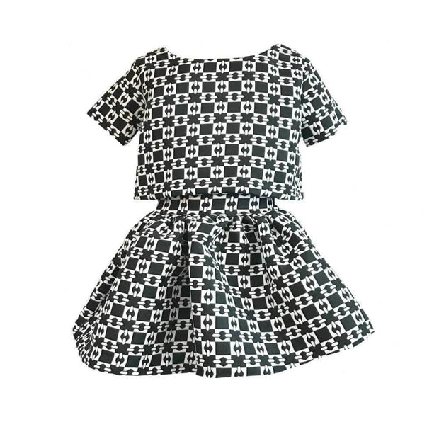 Sweet as Sugar Couture Gigi Pont des Arts Two Piece Dress - 2T - Dress