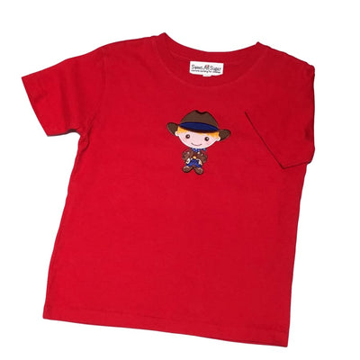 Sweet As Sugar Couture Howdy Partner T-Shirt - 12-18M - Top