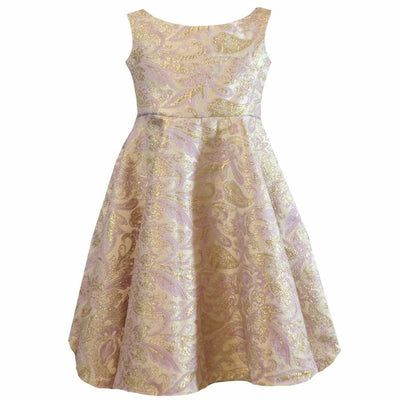 Sweet As Sugar Couture Mauve Metallic Princess Dress - Dress