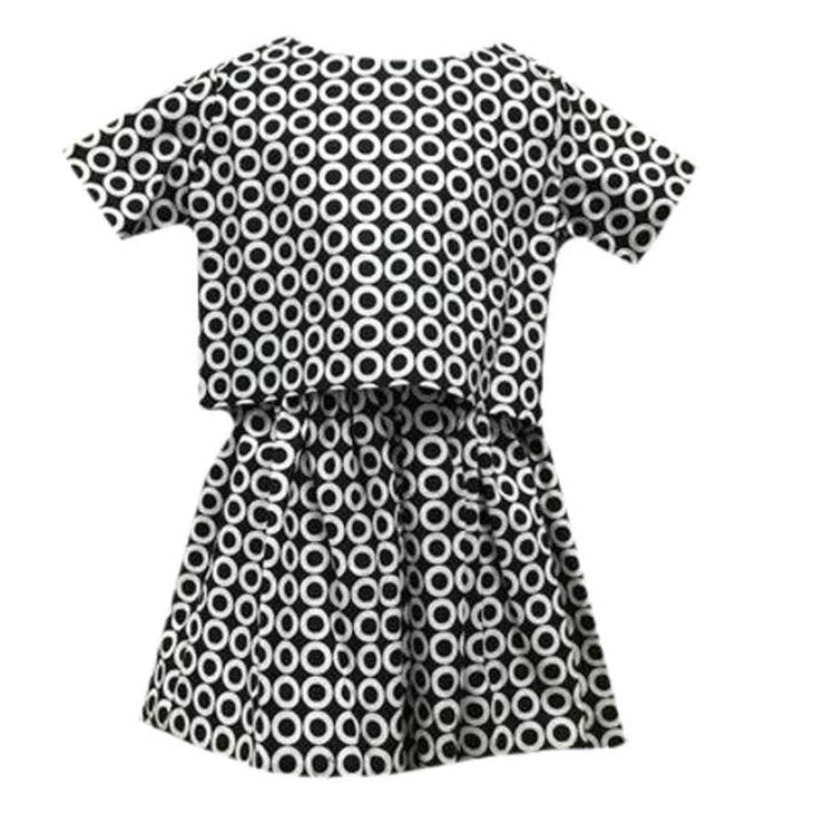 Sweet as Sugar Couture Mod Symmetry 2 Piece Dress - 2T - Dress