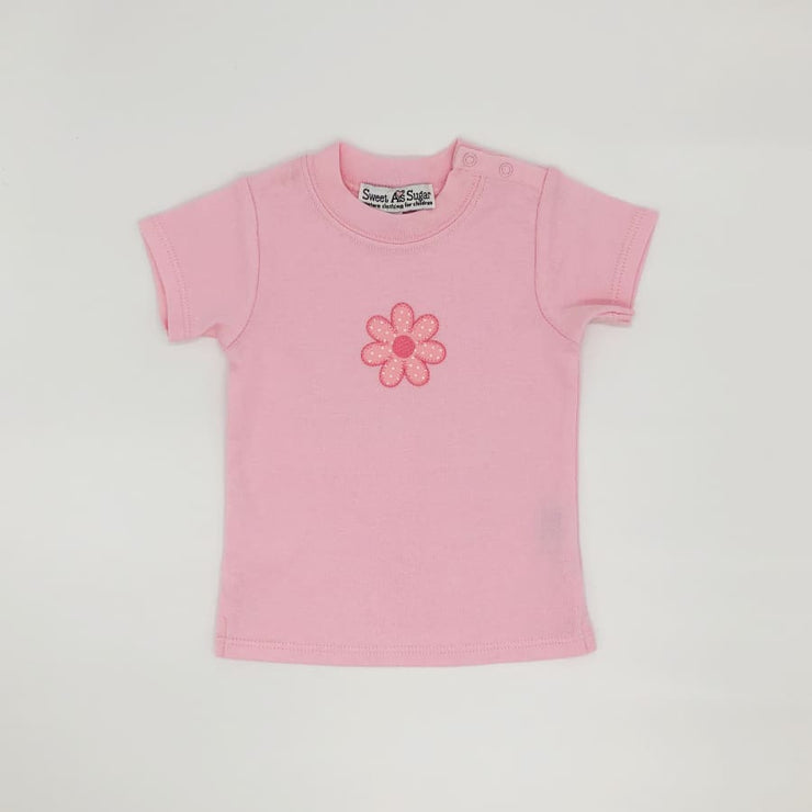 Sweet As Sugar Couture My Pink Flower Top - 3-6M - Top