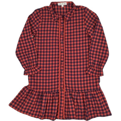 Sweet As Sugar Couture Preppy Flannel Dress - Dress