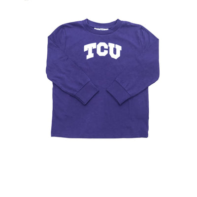 Sweet As Sugar Couture Purple Toddler TCU Tee - Top