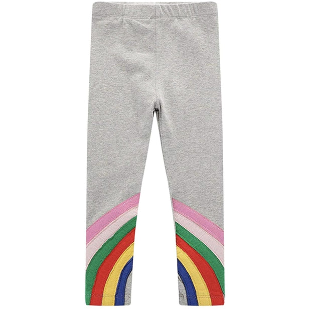 Sweet As Sugar Couture Rainbow Stripes Legging - Bottom