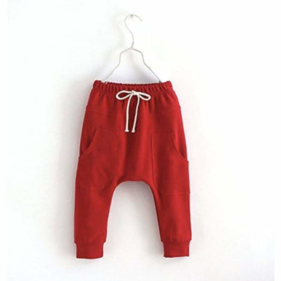 Sweet As Sugar Couture Red Jogger - 2T - Bottom