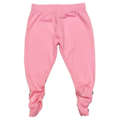 Sweet as Sugar Couture Ruched Legging - Pink - Bottom