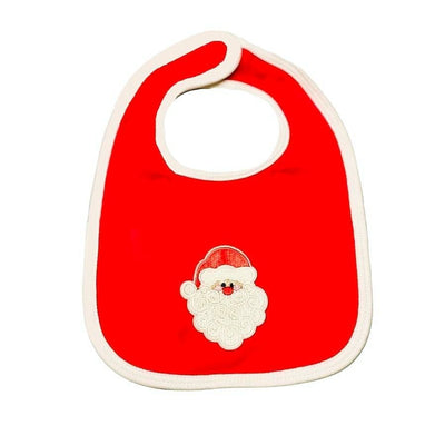 Sweet As Sugar Couture Santa Bib - Baby Essential