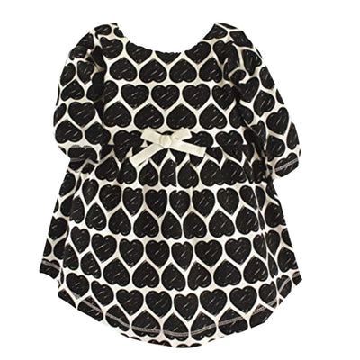 Sweet as Sugar Couture Scattered Hearts Dress - 3-6M - Dress