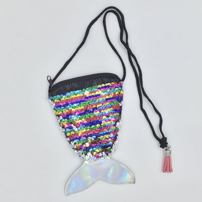 Sweet As Sugar Couture Sequin Mermaid Purse - Accessory