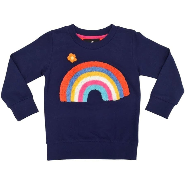 Sweet as Sugar Couture Sunshine and Rainbows Crew - Top
