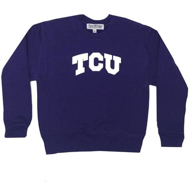 Sweet As Sugar Couture TCU Purple Sweatshirt - S (6/8Y) - Top
