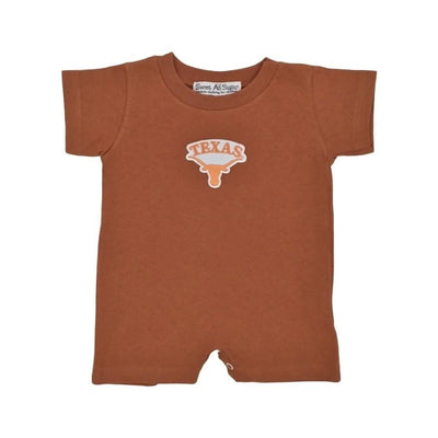 Sweet As Sugar Couture Texas Longhorn Short Romper - Romper & Set