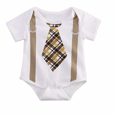 Sweet As Sugar Couture Tie 2K Onesie - 6M - Top