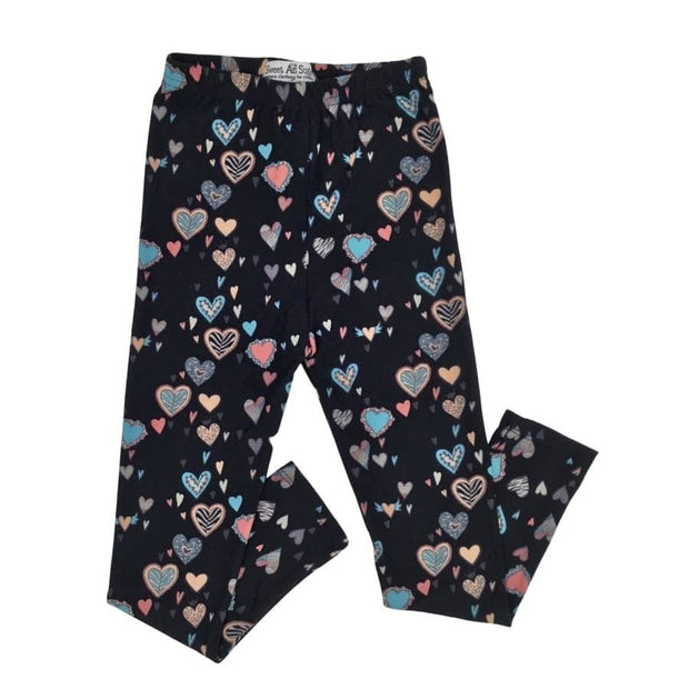 Sweet As Sugar Couture Ultra Soft Legging - Heart - Bottom