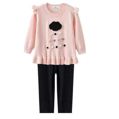 Sweet As Sugar Couture Winnie Sweater Set - 6-12M - Romper & Set