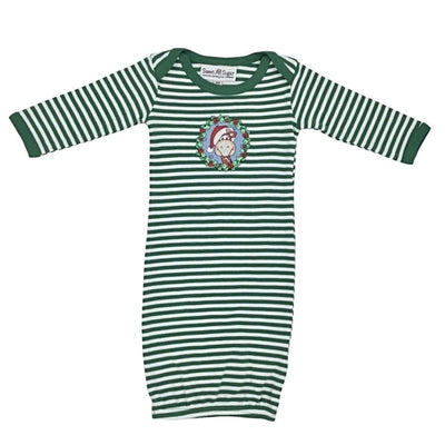 Sweet As Sugar Couture Zoo Friends Christmas Gown - Layette
