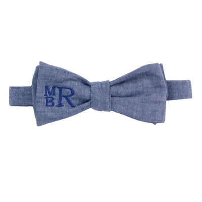 Viv & Lou Bow Tie - Chambray - Accessory