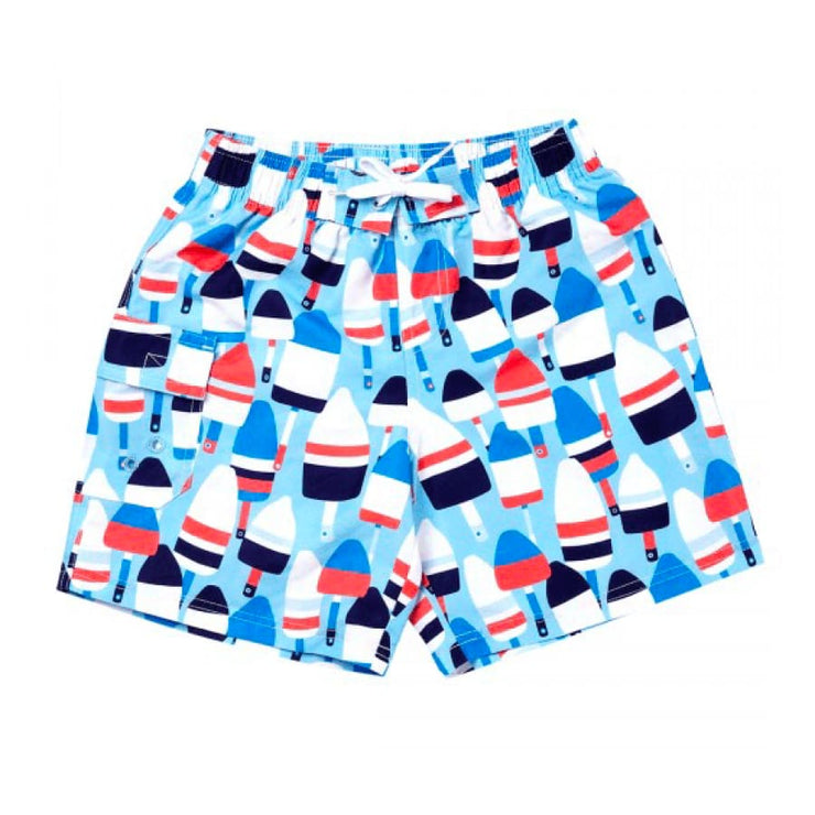 Viv & Lou Oh Buoy Boys Swim Trunks - Swimwear