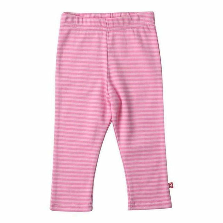 Zutano Pink Stripe Skinny Legging - 24M - Bottom