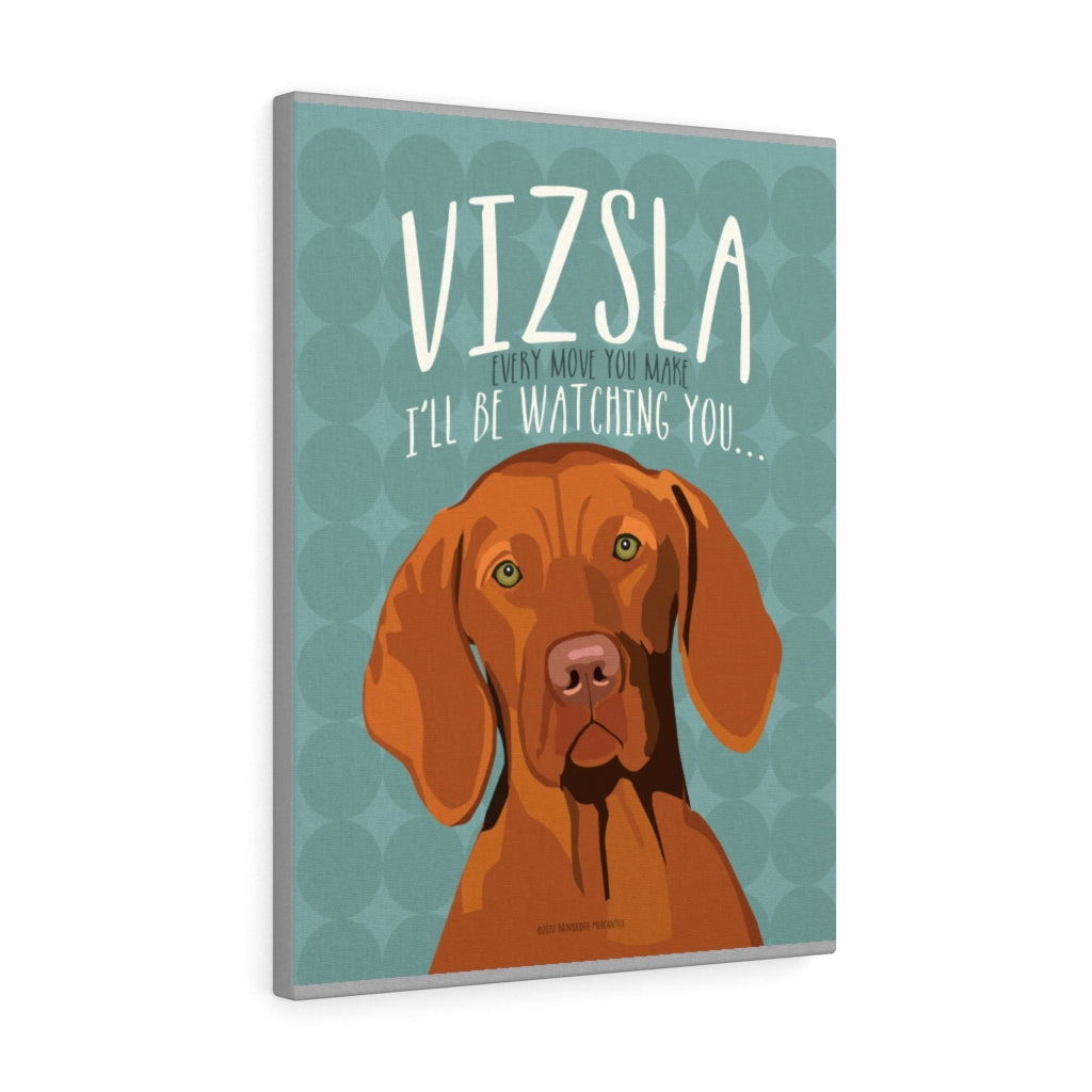 Vizsla Canvas Gallery Wrap